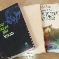 livros para a fuvest na vinte vintage